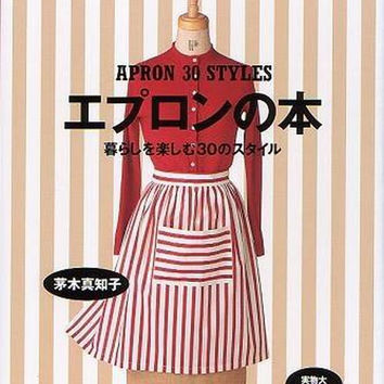 Apron 30 Styles - Japanese Sewing Pattern Book for Women - Machiko Kayaki - B322