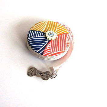 Tape Measure Knit Stitches Retractable Measuring Tape