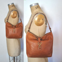 Leather tote Bag / Ralph Lauren purse