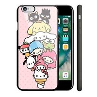 Sanrio Hello Kitty iPhone 5/5s 5c 6/6s 7/7 Plus Hard Plastic Cover Case