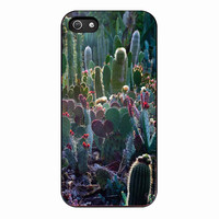cactus garden for Iphone 5 Case *01*