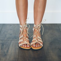 Piper Criss Cross Sandals