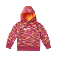 Nike KO 3.0 Graphic Pullover Toddler Girls' Hoodie Size 3T (Pink)