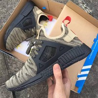 Adidas NMD XR1 Duck Camo Women Men Running Sport Casual Shoes Sneakers Camouflage Camel (black soles)