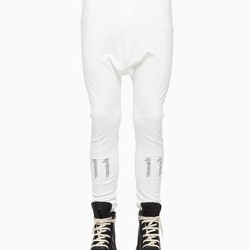 Leggings from the F/W2015-16 Boris Bidjan Saberi 11 collection in ecru