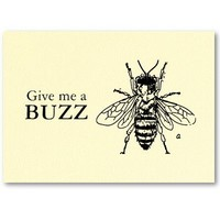 French Retro Bee Vintage Fill in the blanks Business Card Templates from Zazzle.com
