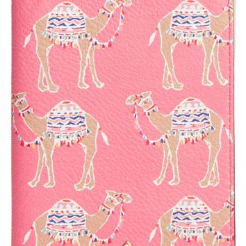 kate spade new york camel march passport holder | Nordstrom