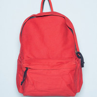 Red and Navy Blue Backpack