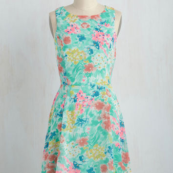Leave a Lasting Impressionism Dress in Day | Mod Retro Vintage Dresses | ModCloth.com