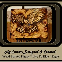 Man Cave,gift ideas for men,Harley Art, biker art, Man Cave,Pirates of the Carribbean,Wood burned Art, Pyrography, Wood burned plaques
