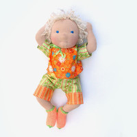 Waldorf  doll baby boy 18 in, sale price