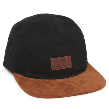 Vans Davis 5 Panel Camper Hat - Mens Backpack - Black/Wheat - One