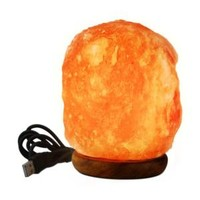 WBM Himalayan, 3 in. LED USB Himalayan Ionic Crystal Salt Mini Lamp, 900 at The Home Depot - Mobile