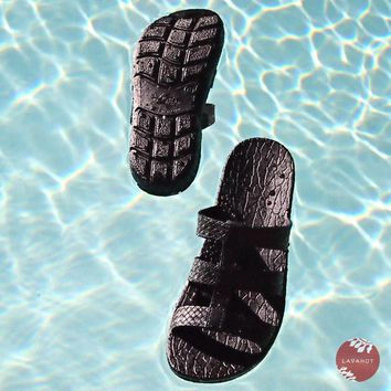 Black Jaya Jandals® - Pali Hawaii