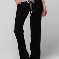 Roxy Oceanside Beach Womens Pants Black  In Sizes