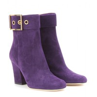 gucci - kesha suede ankle boots