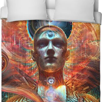 The Powers of Creation Hoodie Custom Duvet Cover