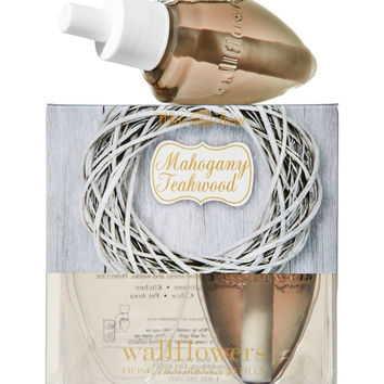 Bath & Body Works Wallflowers Home Fragrance Refill Bulbs 2 Pack Mahogany Tea...