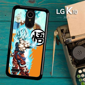 Son Goku Super Saiyan God 2 C0333 LG K10 2017 / LG K20 Plus / LG Harmony Case