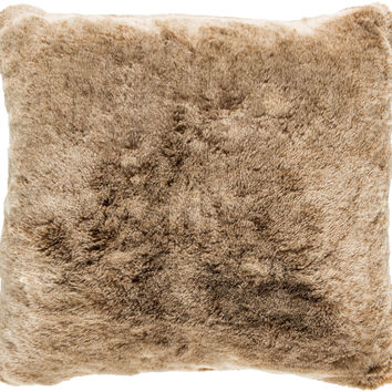 Surya Otso Throw Pillow Brown, Neutral