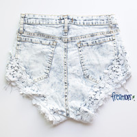 DELILAH DENIM SHORT