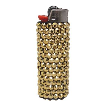 Gold Crystal Lighter
