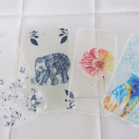 Wholesale lot bundle boho chic elephant mandala iPhone 6 6S case cases floral