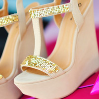 Take Me To Ken Wedges: Tan | Hope's