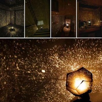 Magical Lamp Rotation Inside For Stars Celestial Star Cosmos Night Lights Projection Projector Starry Sky Constellation Fishing