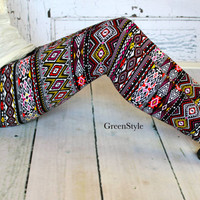Multi color Aztec  Leggings in Teen to Women's by Gogreenstyle