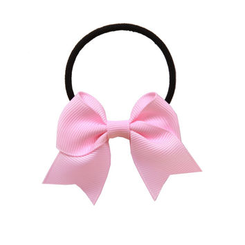 2016 headband Polyester soft summer hair accessories for women girl's sport hairband elsa hair bows Ribbon bow hair ring