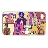 Game of Thrones Phone Case GTA V iPod Case Grand Theft Auto Phone Case Funny iPhone Cover iPhone 4 iPhone 5 iPhone 4s iPhone 5s iPod 4 Case