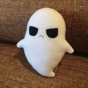 Ghostly-Bob halloween creepy cute spooky phantom spirit specter ghost plushie plush toy