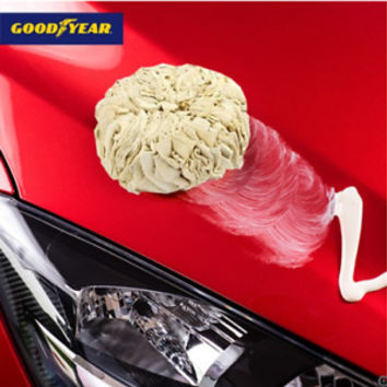 2 Pack Good Year Super Dry Natural Drying Chamois Ball Window Cleaning Defogging