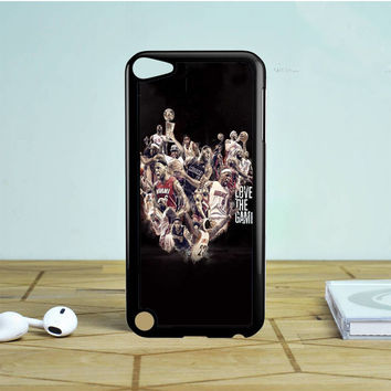 Lebron James Love The Game Collage iPod Touch 5 Case | Tegalega