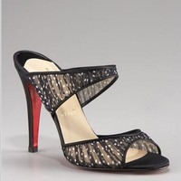 Christian Louboutin Mary jane slide - $220.00