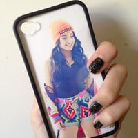 Becky G Case iPhone 4 4s by BluWatermelonDesigns on Etsy