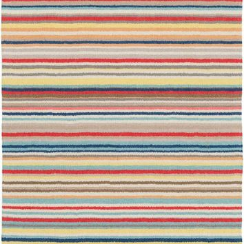 Surya Shiloh Striped Red SHH-5002 Area Rug