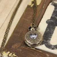 Love Takes Time Watch Necklace