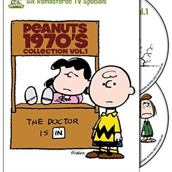 Peanuts: 1970's Collection, Vol. 1 (It's a Mystery Charlie Brown / Play It Again / A Charlie Brown Thanksgiving / It's the Easter Beagle / There's No Time for Love / You're Not Elected)