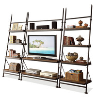 "Riverside Furniture Camden Town Leaning 54"" TV Stand"