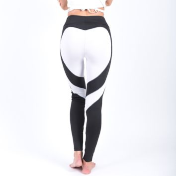 Love Struck Leggings- White
