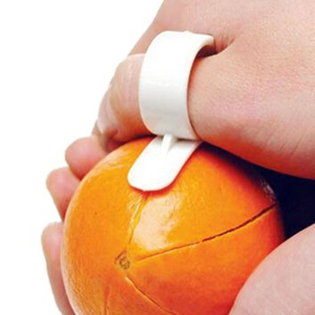 Finger Peeler for Orange Peels