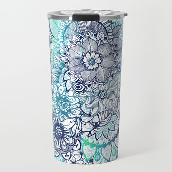 Hippie Vibes Travel Mug by rskinner1122