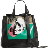Calvin Klein 205W39NYC x Andy Warhol Foundation Skull Leather Tote | Nordstrom