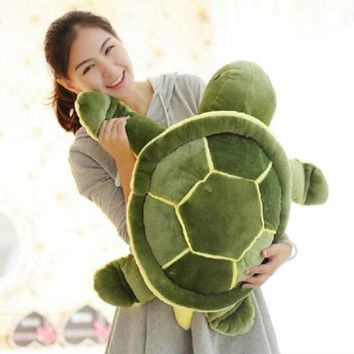 Huge Size 40cm/50cm/60cm Plush Tortoise Toy Cute Turtle Plush Pillow Stuffed Turtle Pillow Cushion For Girls Gift Kids Toys