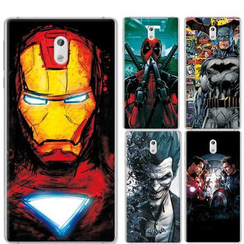 Deadpool Dead pool Taco Charming Painted Cases Cover For Nokia 3 5.0 inch Marvel Avengers Captain America  Coque For Nokia 3 Nokia3 Phone case AT_70_6