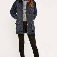 Urban Renewal Vintage Surplus Navy Wax Jacket - Urban Outfitters