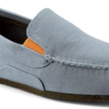 Sperry Top-Sider Shore Leave Canvas Slip-On Shoe GrayCanvas, Size 8.5M  Men's Shoes