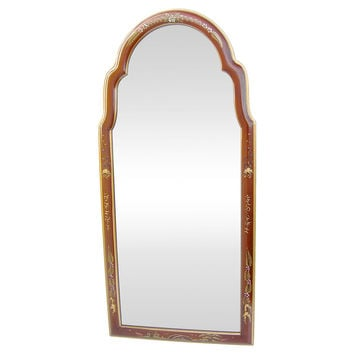 Queen Anne Chinoiserie-Style Mirror